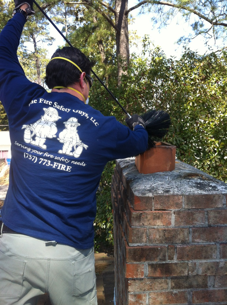 The Fire Safety Guys Virginia Beach Chimney Inspections